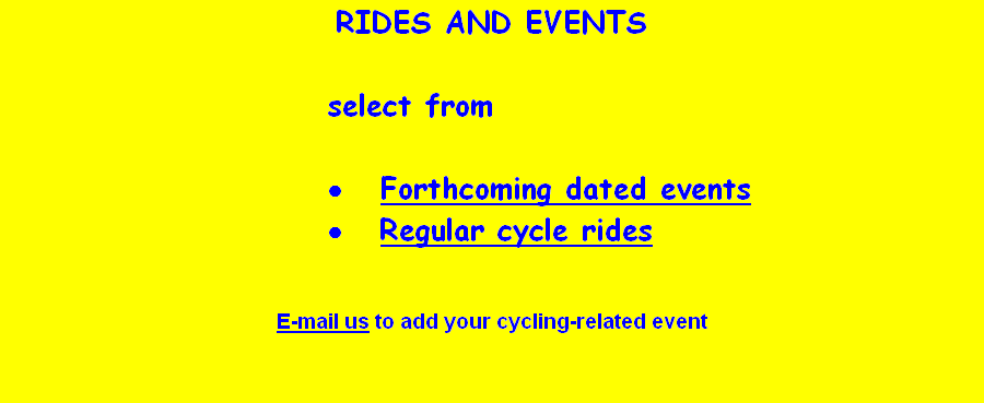 RIDES AND EVENTS